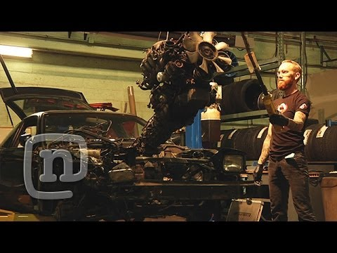 Chris Forsberg & Ryan Tuerck Build A Drift Missile Car For Cheap: Drift Garage Ep. 1
