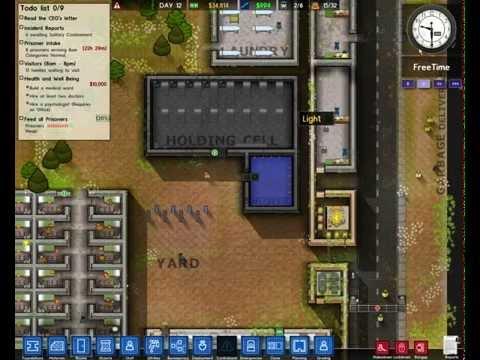 Играем в Prison Architect часть3