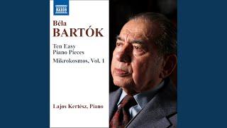 Mikrokosmos, BB 105, Vol. 1: No. 5. 6 Unison Melodies: No. 5