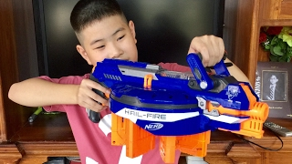 Nerf N-Strike Elite Hail Fire(Thai/ไทย Review)