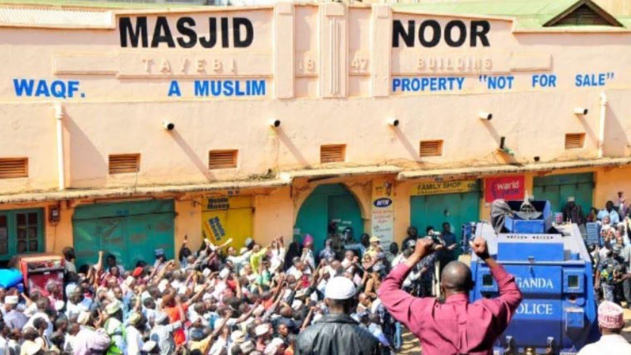 OLUTALO ku omuzigiti gwa Masjid Noor ku William Street e Kampala