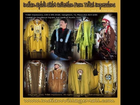 Handmade Native American Style Shirts