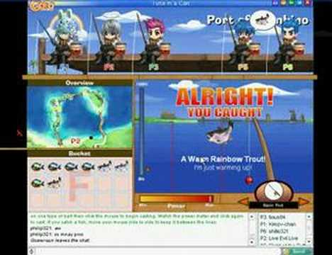 GaiaOnline Fishing Cheat