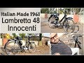 Lambretta 48 Innocenti || Vintage Love || Restoration projects ||  About Lamby 48