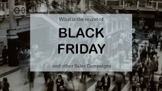 Black Friday & Other Sales Campaigns