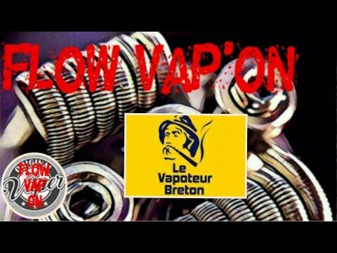 Le Vapoteur Breton !! La gamme gourmandise !!