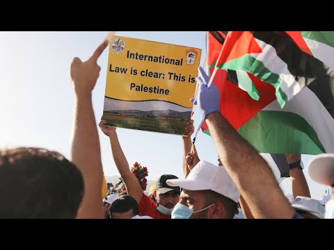 Palestinians protest Trump plan that includes Israel's annexation of parts of West Bank
