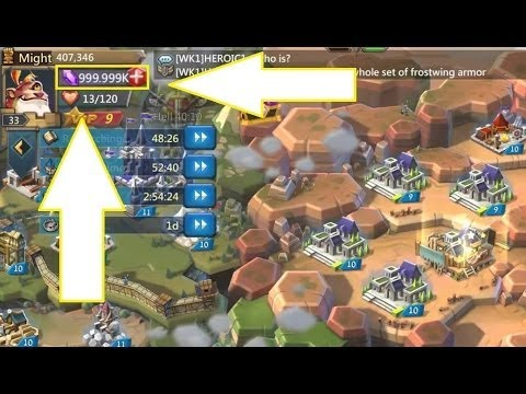 TIPS AND TRICK::--:: LORDS MOBILE|FREE GEMS| NO APK