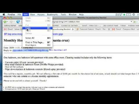 Como Buscar Trabajos En Craigslist Youtube