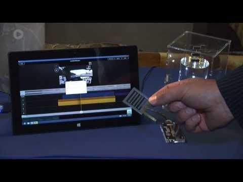ViviTouch Haptic Technology Walkthrough At CES 2014