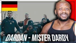 DARDAN - MISTER DARDY (prod. PzY) (Official Video) GERMAN RAP MUSIC REACTION!!!