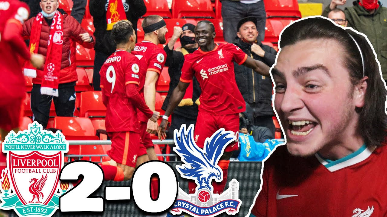 Download CHAMPIONS LEAGUE...WE'RE IN IT MATE! | LIVERPOOL 2-0 CRYSTAL PALACE - LIVERPOOL FAN REACTION