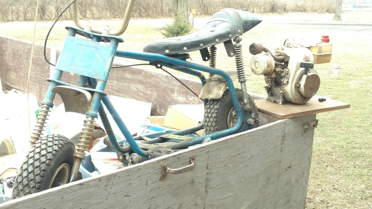 Grand Prix mini bike Tecumseh HS40 Engine BARN FIND