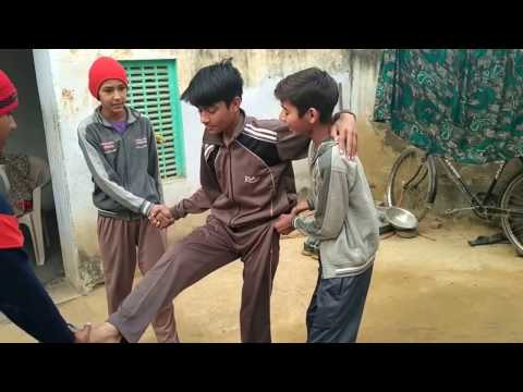 LITTLE VILLAGE BOY AMAZING FUNNY ACTIONS VIDEO 2017