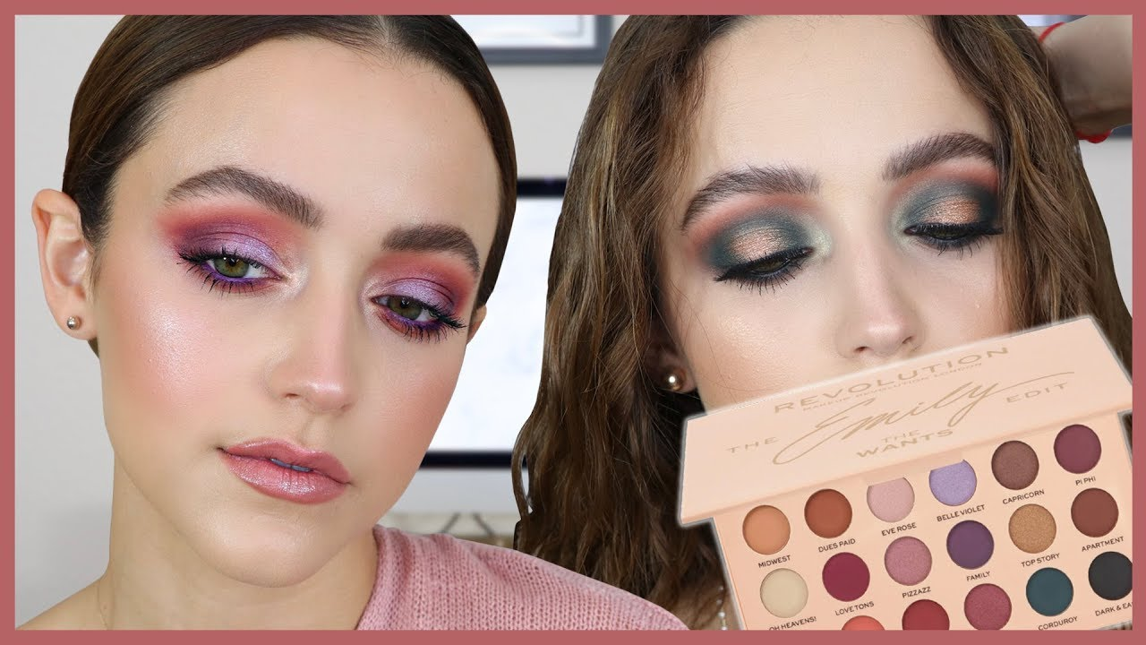 """2 LOOKS USING THE EMILY EDIT """"WANTS"""" PALETTE"""