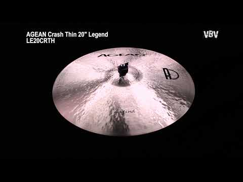 "20"" Crash Thin Legend Video"
