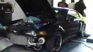 Twin Turbo Mustang Cobra TT On The Dyno