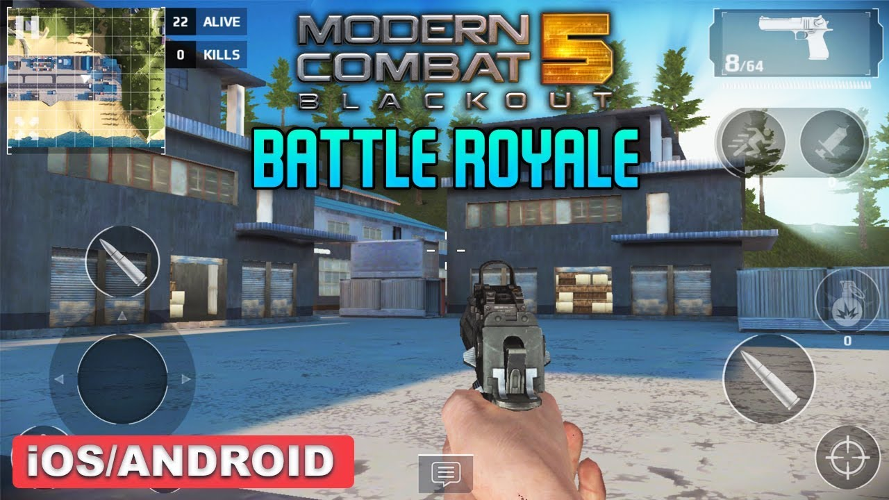 Modern Combat 5 Battle Royale Mode Gameplay Ios Android