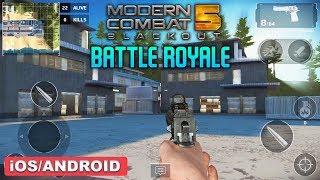 MC5 Battle Royale mode in Modern Combat 5 is now available in BETA ...