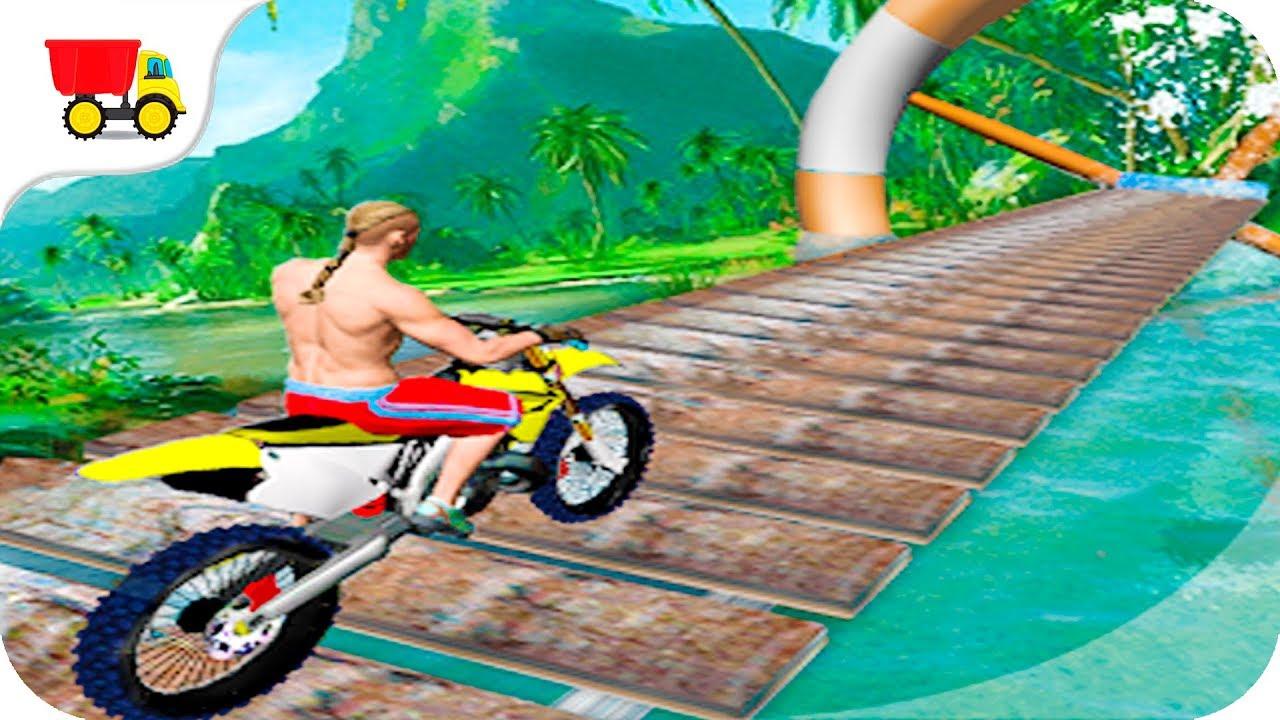 Bike Racing Games Stuntman Bike Race Gameplay Android