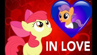 Apple Bloom in Love comic by MrErZebra92 with English subtitles