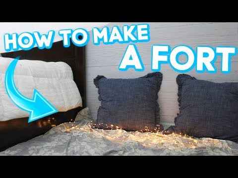 HOW TO MAKE A TRENDY FORT   Quick & Easy!