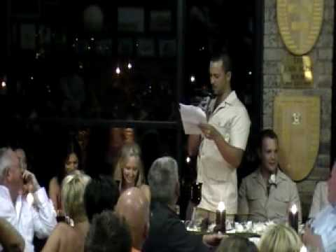 funny groom speech by Daniel Perkowski