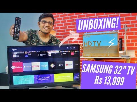 Samsung 32 inch HD Ready LED Smart TV  Unboxing⚡⚡⚡ Wondertainment Series UA32T4340AKXXL