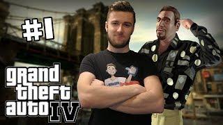 MAJ KÁZN IS HÍR!   Grand Theft Auto 4   Part 1   SK Let's Play   George