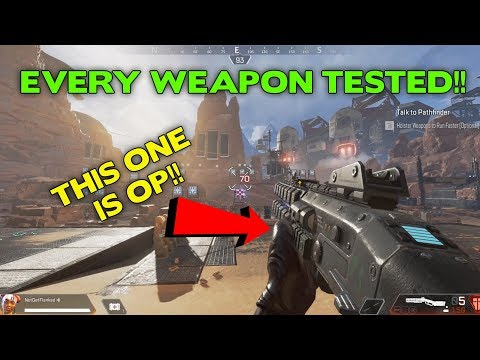 I Tested Every Gun in Apex Legends! This is what I found.