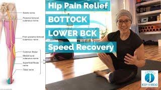 BEST BUTTOCK PAIN RELIEF EXERCISE | SCIATICA & PIRIFORMIS RELEASE