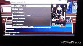NEW PINK DIAMOND ANTHONY DAVIS/ / NBA2K19 MyTeam