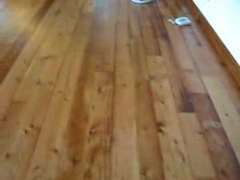 Antique Reclaimed Douglas Fir Flooring Youtube