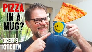 HOW TO MAKE A PIZZA IN A MUG - Greg's Kitchen