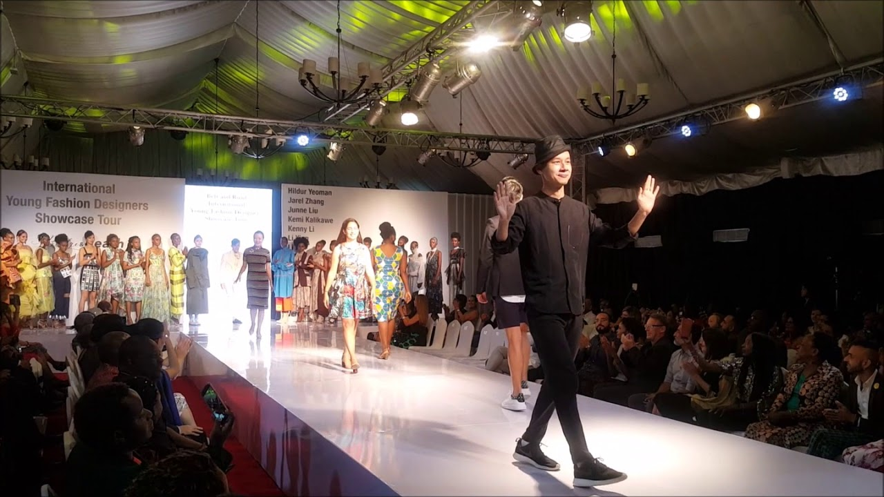 International Young Fashion Designers Showcase Tour In Dar Es Salaam Finale Youtube