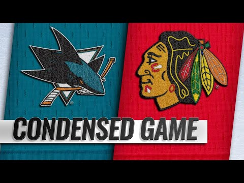 12/16/18 Condensed Game: Sharks @ Blackhawks