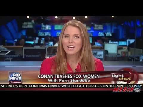 Jenna Lee, Conan O'Brien, and women's legs on Fox News