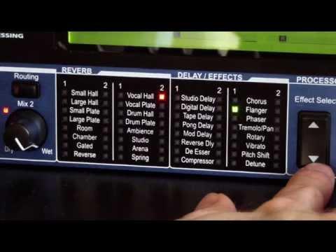 Lexicon MX200 - Dual Reverb Effects Processor