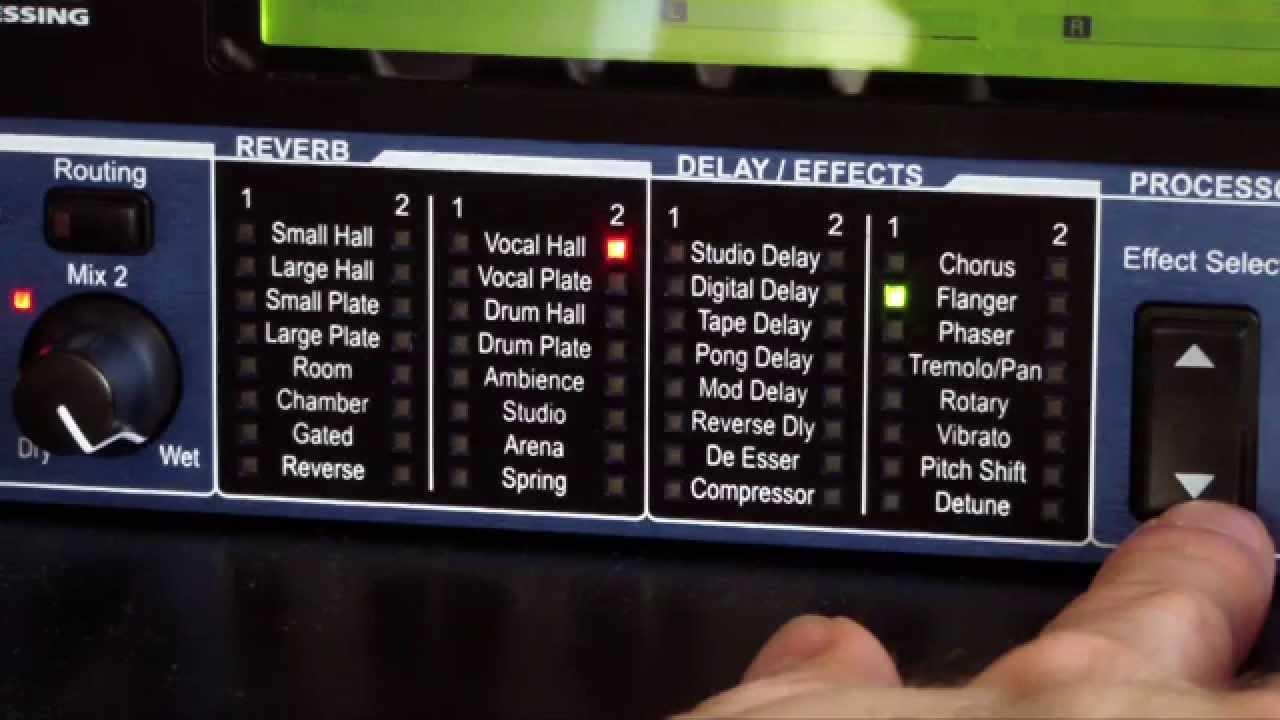 lexicon mx200 dual reverb effects processor