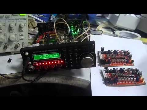 6-band HF SSB shortwave radio shortwave radio transceiver board DIY Kits SSB 6.1