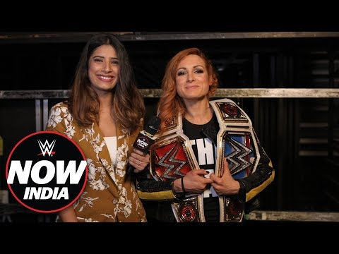 Becky Lynch wants to defend the Raw and SmackDown Women's Titles in India: WWE Now India
