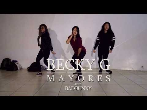 Mayores - Becky G ft. Bad Bunny  | Choreography by Kaori MG