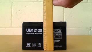 UB12120 Universal Battery Terminal F1
