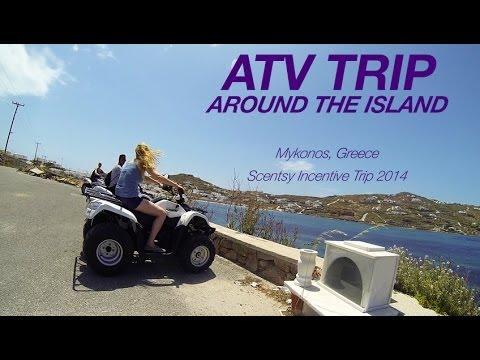 Mykonos, Greece ATV Excursion - Scentsy Incentive Trip 2014