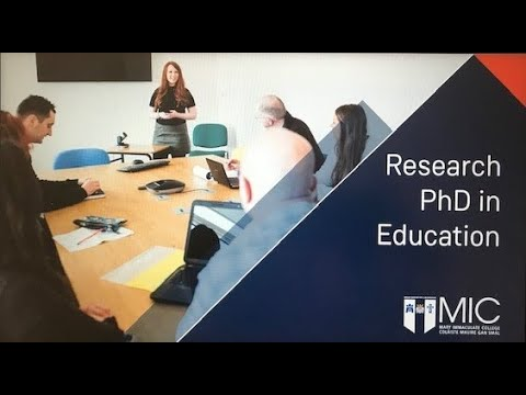 Research PhD's in Education at MIC