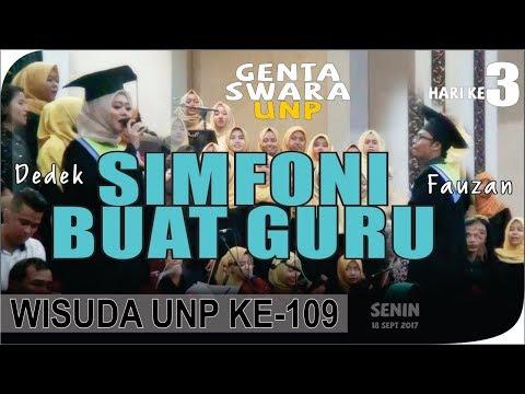 SIMFONI BUAT GURU Ade Amelina Gustine | WISUDA KE 109 #1