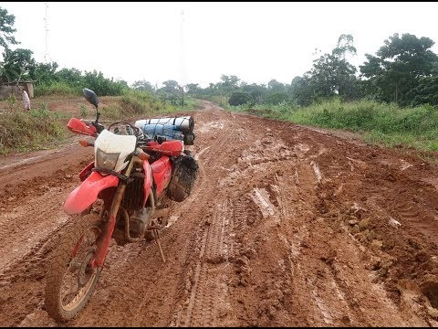 Africa Motorcycle Tour Part 10 - ' Gabon'