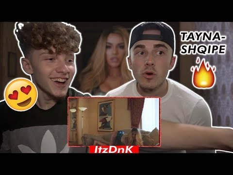 Tayna - Shqipe (Official Video) REACTION DISS (RINA)