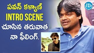 Harish Shankar about Pawan Kalyan Intro Scene | Dil Se With Anjali | Celebrity
