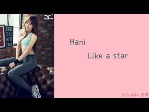 [Lyrics/가사] Hani - Like a star (Cover)